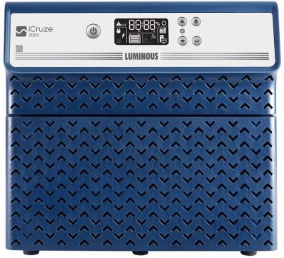 LUMINOUS iCruze 3000 2.8 KVA 2240W Pure Sine Wave Super Inverter for Home, Office, and Shops (Dark Blue) Pure Sine Wave Inverter
