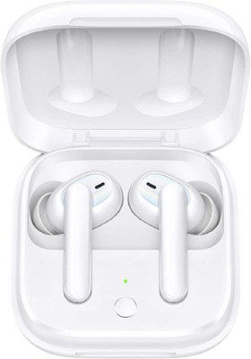 OPPO Enco W51 with Hybrid Active Noise Cancellation Bluetooth Headset(Floral White, True Wireless)