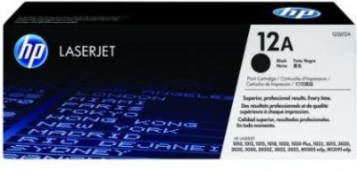 HPLASERJET HP Laserjet 12A Black Ink Toner