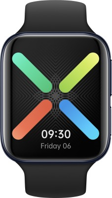 OPPO Watch 46 mm WiFi Smartwatch(Black Strap, Regular)