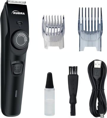 KUBRA KB-1088 40 Length Settings Rechargeable Runtime: 45 min Trimmer for Men(Black)