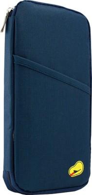 ITALISH Boys Blue Fabric Card Holder(12 Card Slots)