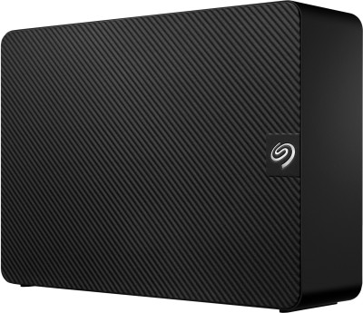 Seagate Expansion for Windows and Mac with 3 years Data Recovery Services – Desktop 6 TB External Hard Disk Drive(Black)