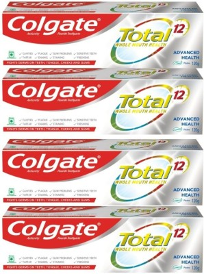 Colgate Total Advance Health Toothpaste(120 g, Pack of 4)