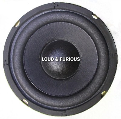 LOUD & FURIOUS 6 inch Special heavy Woofer ( 90*17) used in Home theater and as cars subwoofer Special heavy...