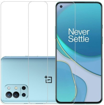 HOBBYTRONICS Tempered Glass Guard for OnePlus Nord CE 5G(Pack of 2)