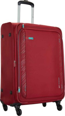 VIP SCOPE MEDIUM SIZE 4W EXP TROLLEY BAG 68CM RED Expandable Check in Luggage   27 inch VIP Suitcases