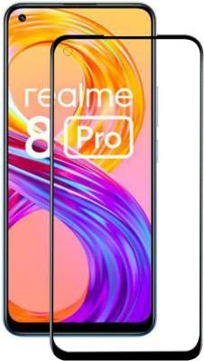 Gorilla Original Edge To Edge Tempered Glass for Realme 8 Pro, Realme 8(Pack of 1)