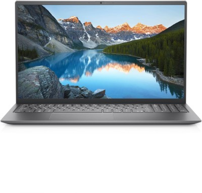 DELL Inspiron Ryzen 5 Hexa Core 5500U - (8 GB/512 GB SSD/Windows 10) Inspiron 5515 Thin and Light Laptop(15.6 Inch, Silver, 1.64 KG, With MS Office)