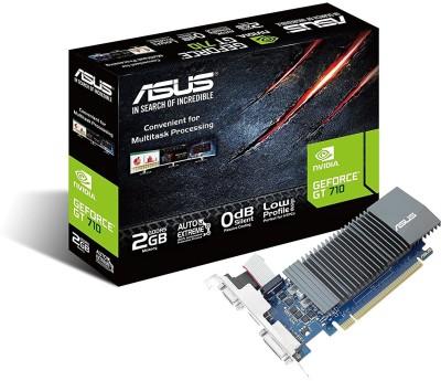ASUS NVIDIA GeForce 710-2-SL GT 710 PCI-Express Graphics Card 2 GB GDDR5...