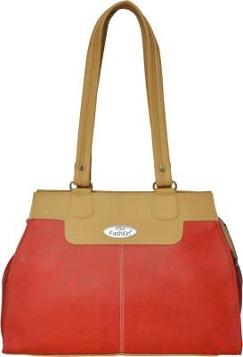 FD FASHION Women Red, Beige Shoulder Bag FD FASHION Handbags
