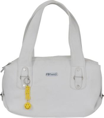FD Fashion Women White Shoulder Bag
