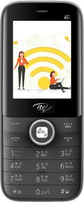 Itel Magic2 4G (WiFi, Hotspot Tethering)(Black)