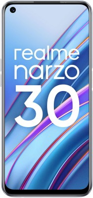 realme Narzo 30 (Racing Silver, 64 GB)(6 GB RAM)