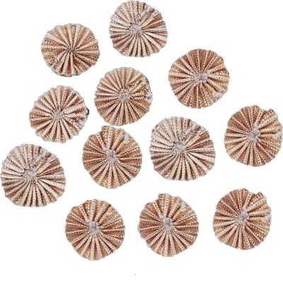 EmbroideryMaterial.com Gota Flower Ethnic Appliques Patches For Dresses (Rose Gold Color,100 Pieces)1.7CM