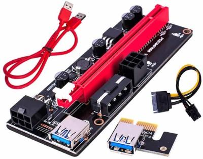 Xsentuals NVIDIA PCIe Riser Adapter Card VER009S / 009S Black & Gold...