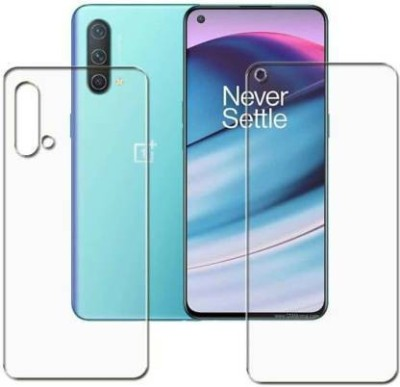 FIRST IMPRESSION Front and Back Tempered Glass for OnePlus Nord CE(Pack of 2)