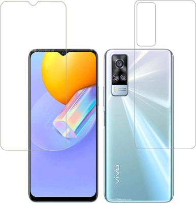 FIRST IMPRESSION Front and Back Tempered Glass for Vivo Y31(Pack of 2)