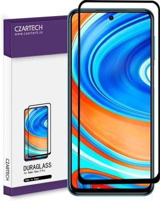 CZARTECH Tempered Glass Guard for Mi 10i, Mi Redmi Note 9 Pro, Mi Redmi Note 9 Pro Max, Poco X2, Poco X3, K30(Pack of 1)