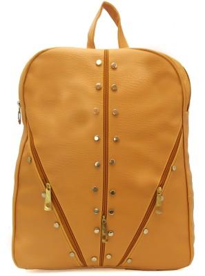 Jovial Yellow 5 L Backpack Yellow Jovial Backpack Handbags