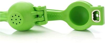 Peher Plastic Hand Juicer 2 in 1 Plastic Lemon Squeezer(Green Pack of 1)
