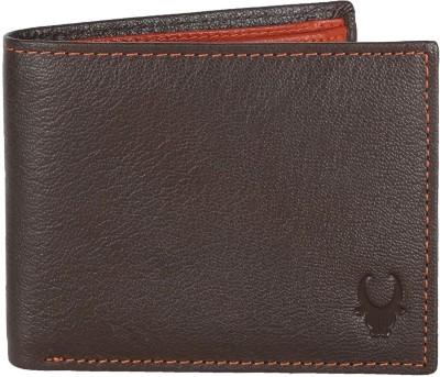 WILDHORN Men Casual, Formal Brown Genuine Leather Wallet 6 Card Slots WILDHORN Wallets