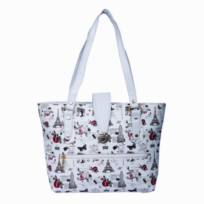 LADY BAR Women White Hand held Bag LADY BAR Handbags