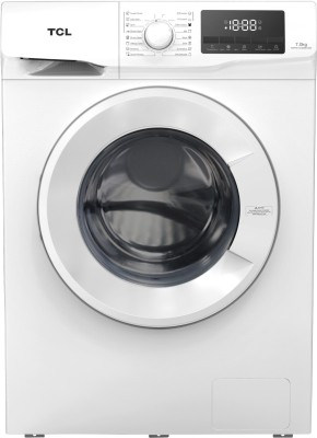 TCL 7 kg Fully Automatic Front Load with In-built Heater White(TWF70-G123061A03)