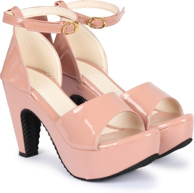 Alishtezia Women Pink Heels