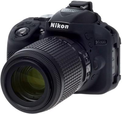 digiclicks Silicone Protection Cover/Case for Nikon D5300 (Black) Camera Bag(Black)