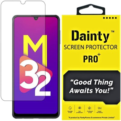 Dainty TECH Tempered Glass Guard for Samsung Galaxy F22, Samsung Galaxy M32, Samsung Galaxy A22(Pack of 1)