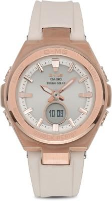 CASIO MSG-S200G-4ADR Baby-G Analog-Digital Watch - For Women