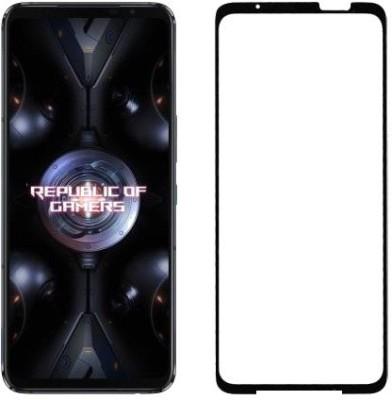 HOBBYTRONICS Edge To Edge Tempered Glass for ASUS ROG Phone 5, ASUS ROG Phone 5 Pro, ASUS ROG Phone 5 Ultimate(Pack of 1)