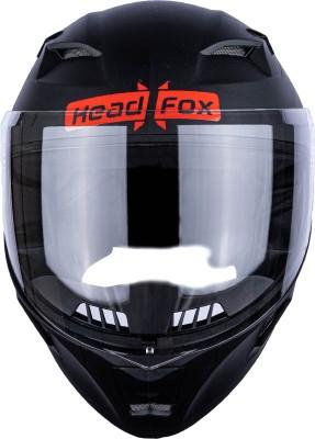 HEADFOX RTR Bluetooth N1 Motorbike Helmet(Black)