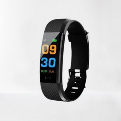 BULLROCK Activity Tracker Smart Band(Black Strap, Size : Normal)