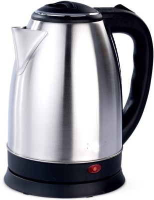 Ortan Longlife (R) 1.8 L Stainless Steel Quick Heating Tea - Water Boiler Heater Pot Electric Kettle(1.8 L, Silver)