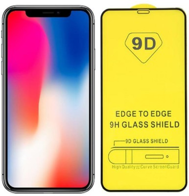 Immutal Edge To Edge Tempered Glass for Apple iPhone X(Pack of 1)