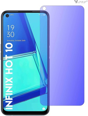 VAPRIF Tempered Glass Guard for Infinix Hot 10, Smart Screen Protector Blue Light Resistant Eyes Protected(Pack of 1)