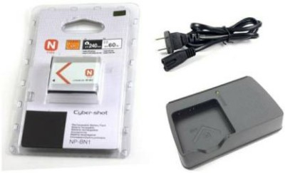 IJJA NP BN1 Camera Battery Charger compatible for sony camera Camera Battery Charger Black IJJA Battery chargers