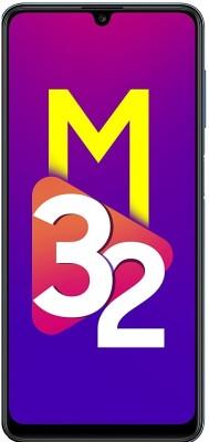 SAMSUNG Galaxy M32 (Light Blue, 64 GB)(4 GB RAM)