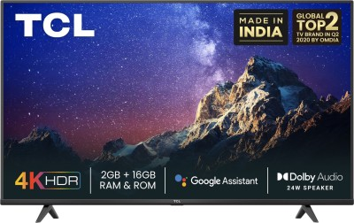 TCL P615 164 cm (65 inch) Ultra HD (4K) LED Smart Android TV(65P615)