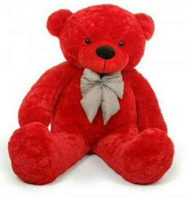 AVS 3 Feet Teddy Bear For Gift  Red Color    91 cm Red AVS Soft Toys
