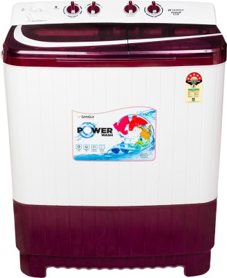 Sansui 8.5 kg Semi Automatic Top Load Red, White(SISA85A5R)