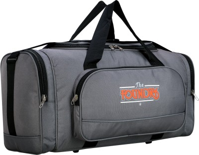 The Foundry 20 inch/50 cm Unisex Luggage Travel Duffel Bag,20 inches,Grey Duffel Without Wheels The Foundry Duffel Bags