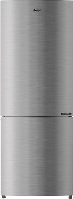 Haier 276 L Frost Free Double Door Bottom Mount 3 Star Refrigerator(Inox Steel, HRB-2964CIS-E)