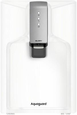 Aquaguard Glory 6 L RO + UV + MTDS + Alkaline Water Purifier(White)