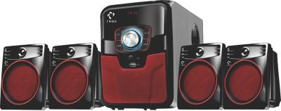 I Kall IK 405 Multimedia 4.1 Speaker System with Bluetooth, Aux, USB, FM Connectivity 60 W Bluetooth Home Theatre(Black, 4.1...