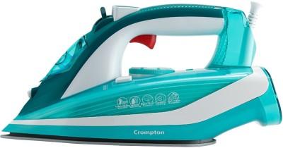CROMPTON Fabri Smart 1600 W Steam Iron(White, Green)