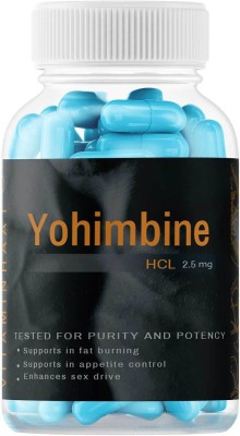 Vitaminhaat Yohimbine 2.5mg Pre Workout Supplement 15 Capsules(15 Capsules)