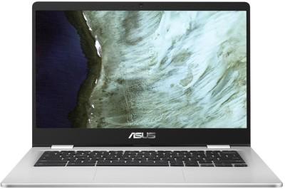 ASUS Chromebook Celeron Dual Core - (4 GB/64 GB EMMC Storage/Chrome OS) C423NA-BV0523 Thin and Light Laptop(14 inch, Silver, 1.20 Kg)
